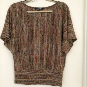 Forever 21 Knit Multi color Top Size M Perfect
